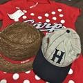 カープの帽子とTシャツ