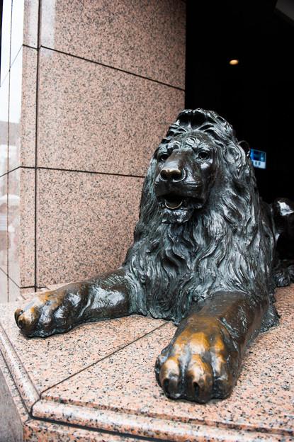 三越ライオン