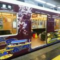 煌びやかなラッピング車両@阪急