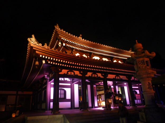 写真: 今年初めて開催@長谷の灯かり