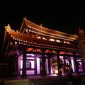 今年初めて開催@長谷の灯かり