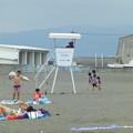 サザンオールスターズの曲が流れるビーチ