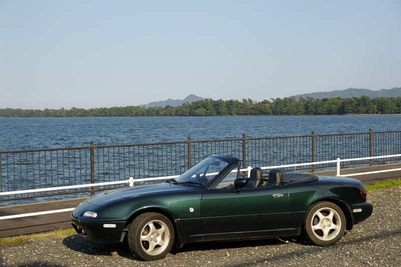 天橋立とEUNOS Roadster VR-Limited CombinationB