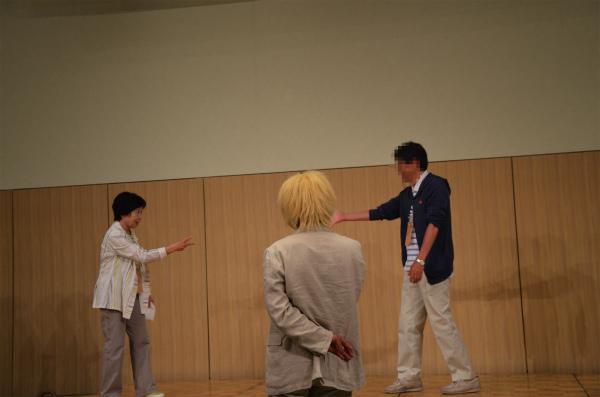 軽井沢ミーティングのジャンケン大会初のアプニング
