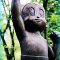 <鉄腕アトムの銅像(1)>