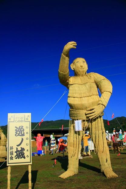 Photos: 里美かかし祭 2014 逸ノ城かかし