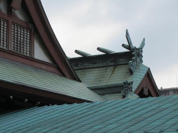 Photos: 27.8.14八幡八雲神社本殿
