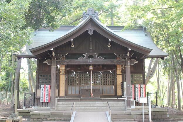 27.8.15浅間神社拝殿