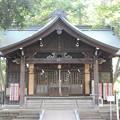 写真: 27.8.15浅間神社拝殿