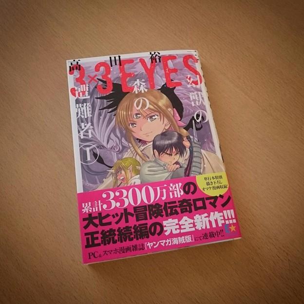 3×3EYES幻獣の森の遭難者1巻