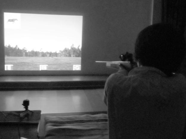 狩猟のシュミレーション体験(諏訪)