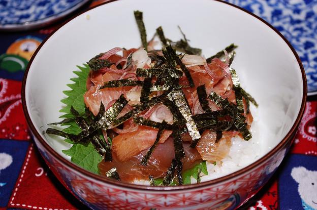 Photos: ツバスのヅケ丼