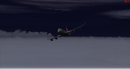 fsx 神奈川県上空