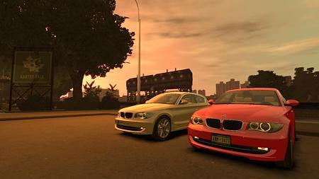 GTAIV BMW 1シリーズ120I2ショット
