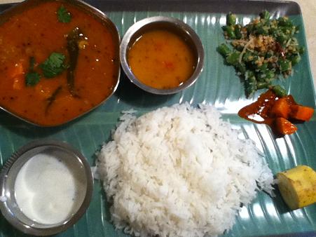ミールス ジャスミンライスで 南インド料理 亜州食堂 チョウク